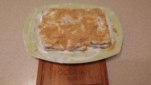 Тортик из печенья с бананом - 6