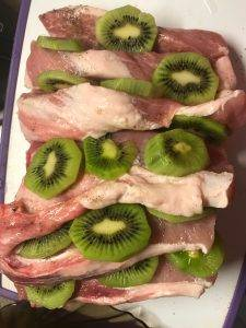 Мясо, запеченное с киви - 3
