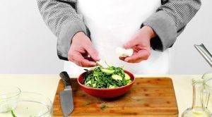 Салат из молодых кабачков - 1