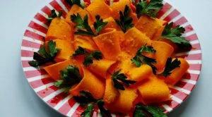 Тыквенный салат с петрушкой - 1