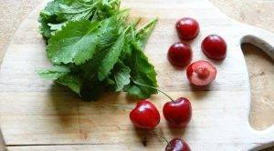 Летний горчичный салат с черешней - 0