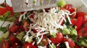 «Шопский» салат с болгарской брынзой - 1