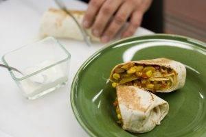 Вегетарианский буррито - 3