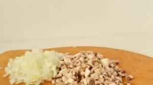 Хлебный суп с грибами - 0