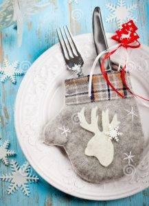 10 оригинальных идей для сервировки новогоднего стола - 15