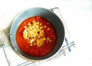 Мексиканский томатный суп с кукурузой - 0