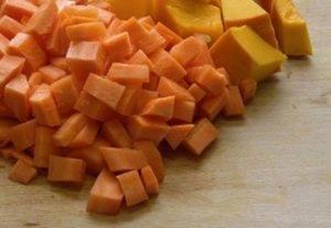 Новогодний тыквенно-мандариновый суп - 0