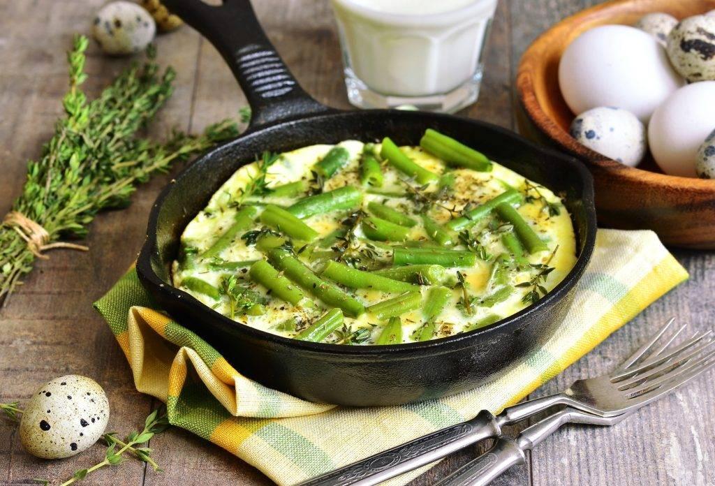 блюда из зеленой фасоли рецепты с фото