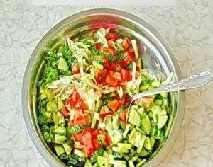 Летний салат по-молдавски - 3
