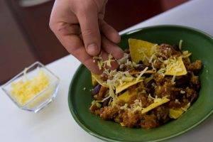 Мексиканские начос с острым мясом - 2