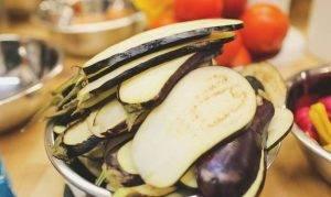 Баклажаны с ореховой пастой - 0