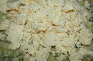 Лазанья с савойской капустой и брынзой - 1