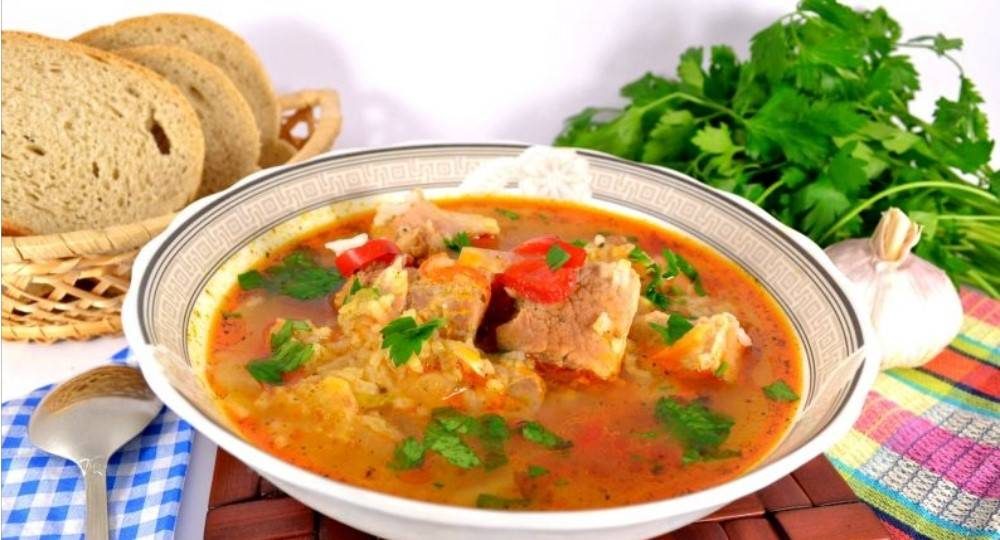 Какой суп приготовить на свином бульоне