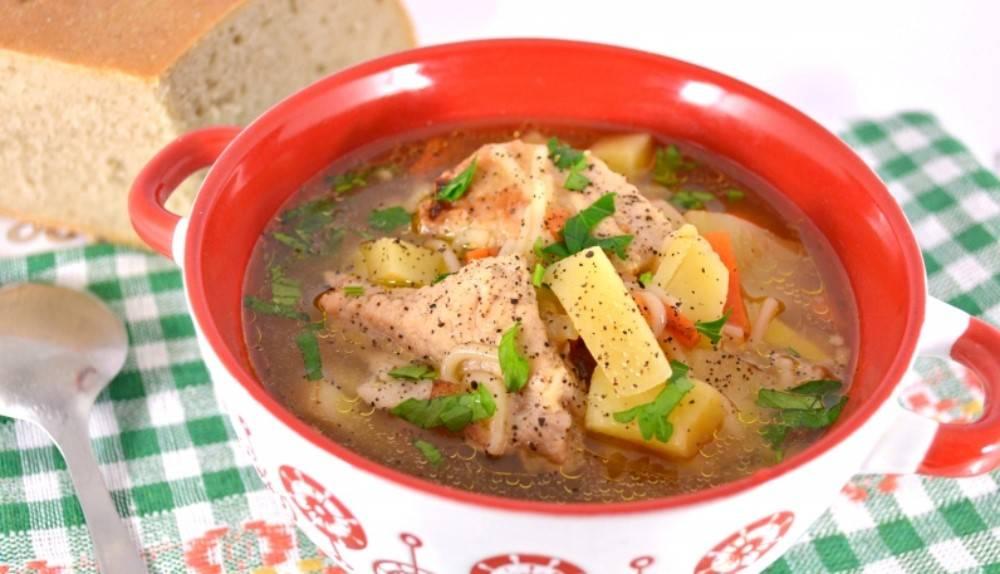 Как приготовить вермишелевый суп с мясом