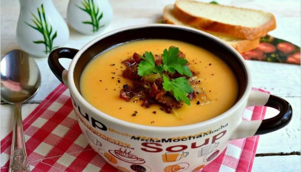 суп пюре из утки рецепты с фото сначала был