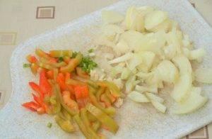 Низкокалорийный суп из индейки, перцев и томата - 0