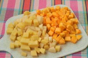 Суп горохово-тыквенный «Оранжевое настроение» - 0