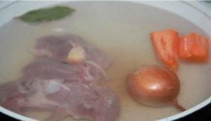 Фитнес-суп с мясом индейки и овощами - 0