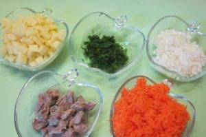 Суп с морковными клецками - 0