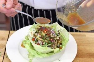 Мексиканский салат с курицей - 2