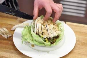Мексиканский салат с курицей - 3