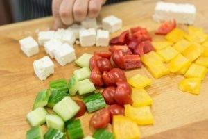 Закуска а-ля салат «Греческий» - 1
