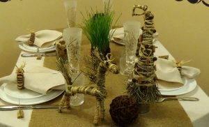 10 оригинальных идей для сервировки новогоднего стола - 7