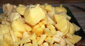 Сырно-овощной суп со свининой в мультиварке - 0