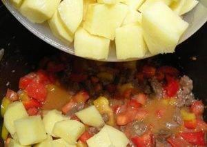 Венгерский суп–гуляш в мультиварке - 1