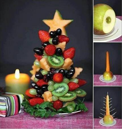 10 оригинальных идей для сервировки новогоднего стола - 8