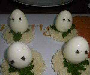 Яичная закуска