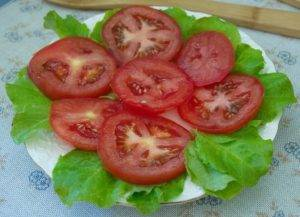 Закуска из помидоров под сыром - 1