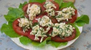Закуска из помидоров под сыром - 4
