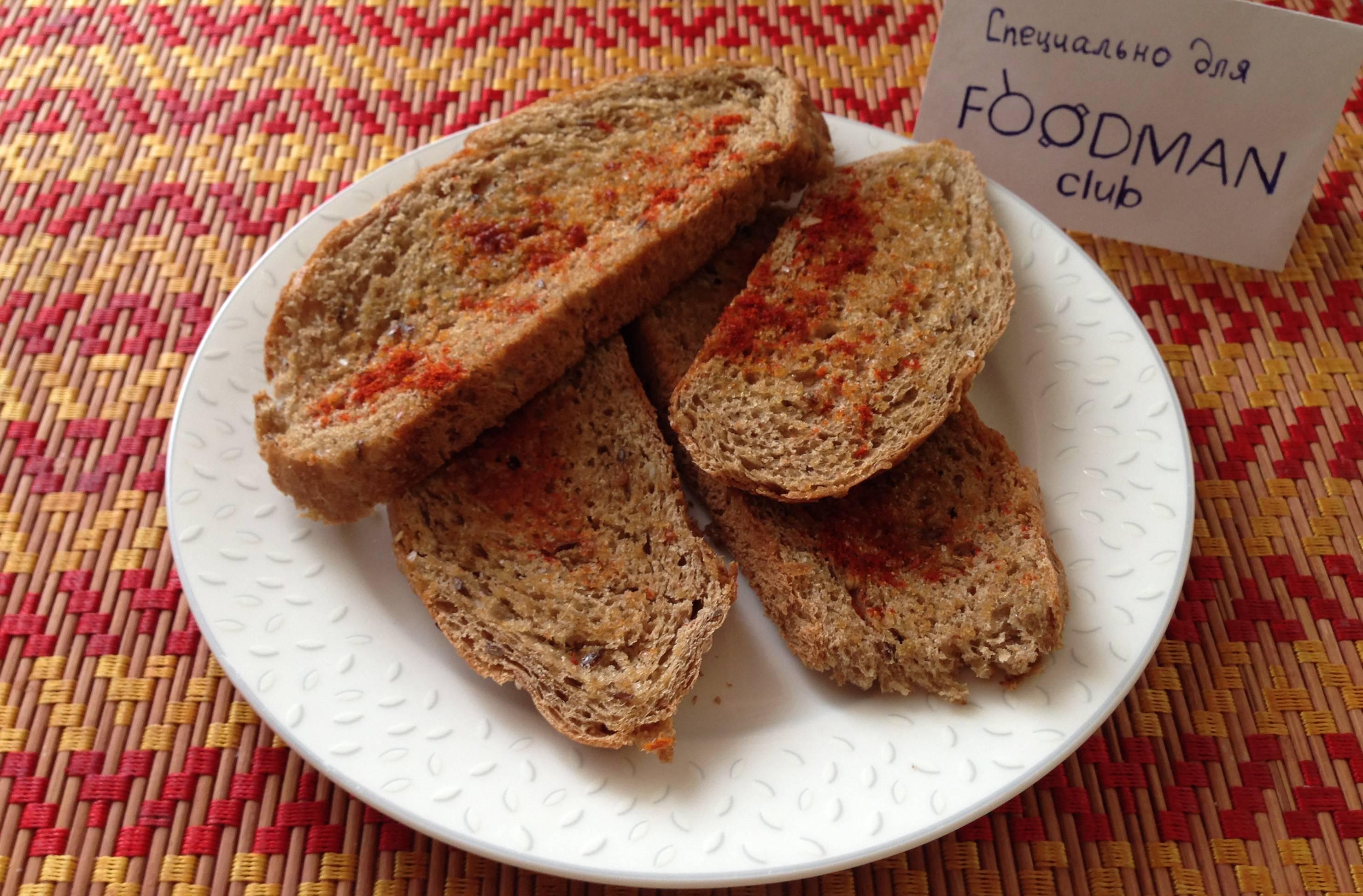 Тосты из хлеба рецепт