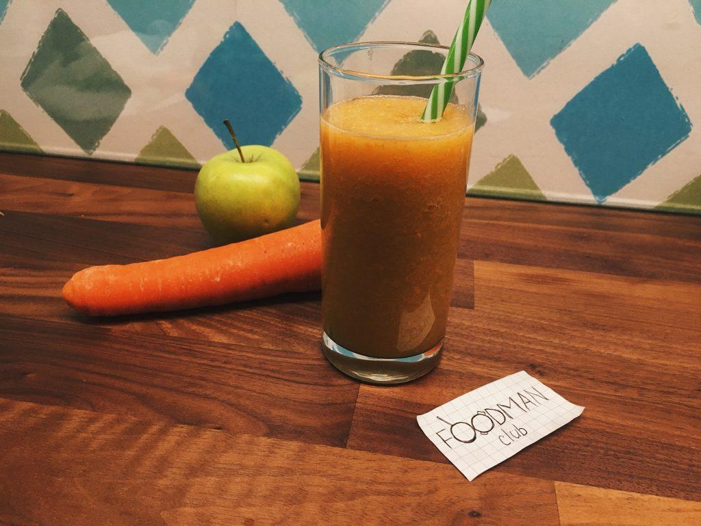 Морковь и яблоко смузи для похудения