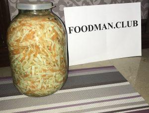 Вкусные рецепты квашеной капусты - 1