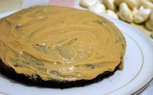 Шоколадный торт с безе - 2