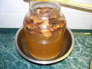 Квас из хлебной закваски - 1