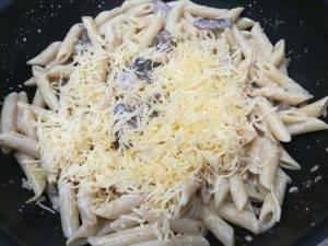 Макароны со сливочно-грибным соусом - 2