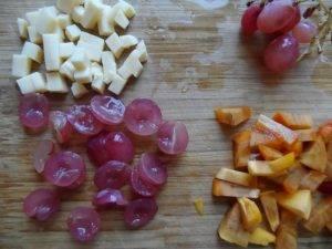 Фруктовый салат с сыром - 0