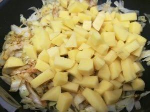 Капуста и картофель карри - 1