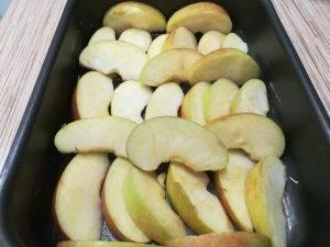 Карамельные яблочные дольки - 0