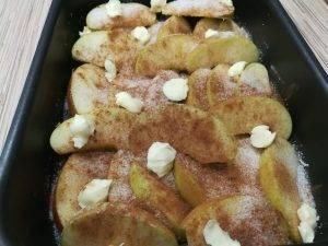 Карамельные яблочные дольки - 1