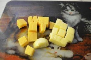 Творожные треугольники с сыром - 2