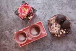 Кофе с мускатным орехом и корицей - 0