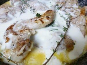 Тушеный кролик со сметаной - 3