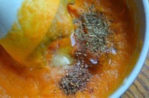Тыквенный густой соус с курицей - 2