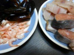 Рыбный суп с морепродуктами - 0
