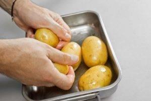 Картофель, запеченный в мундире - 0