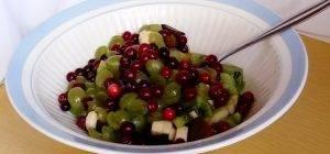Фруктовый микс с ягодами клюквы - 1